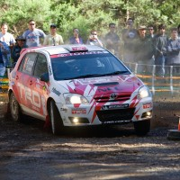 TRD's Simon and Sue Evans in action during the 2007 ARC season